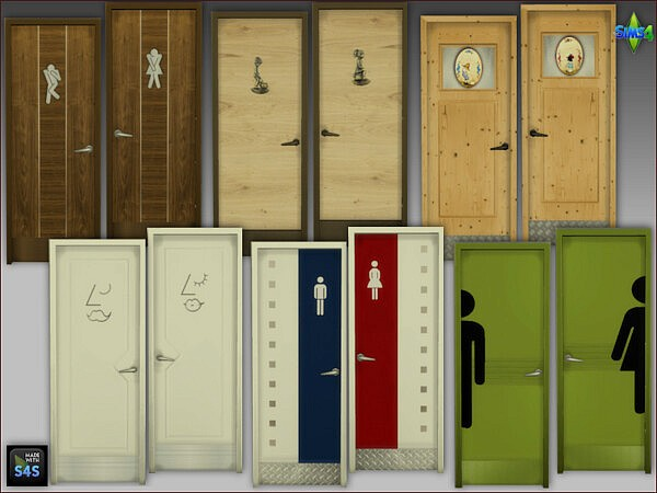 Toilet Doors from Arte Della Vita
