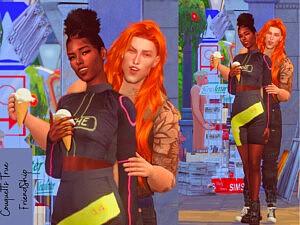True Friendship posepack sims 4 cc