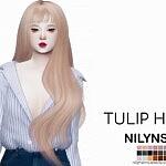 Tulip Hair sims 4 cc