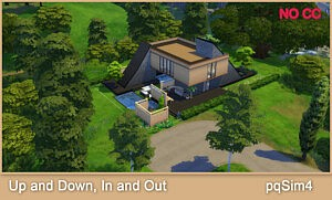 Up and Down In and Out Villa sims 4 cc
