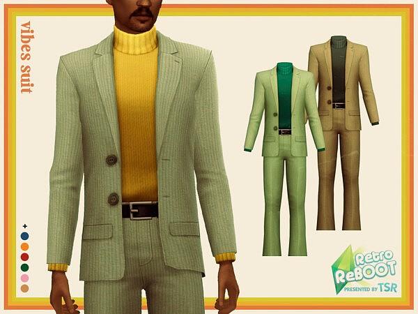 Vibes Suit sims 4 cc