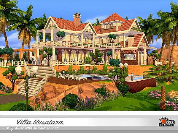 Villa Nusatara NoCC sims 4 cc