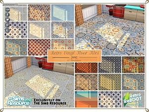Vinyl Floor Tiles sims 4 cc
