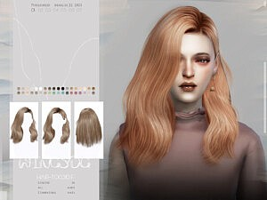 WINGS TO0310 sims 4 cc