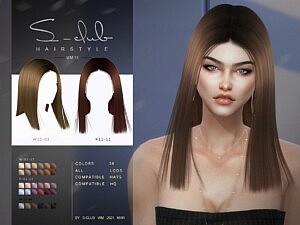 WM Hair 202111 sims 4 cc