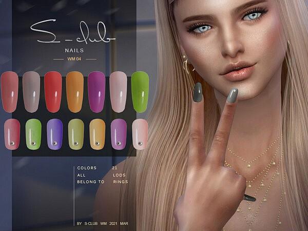 WM Nails 202104 sims 4 cc