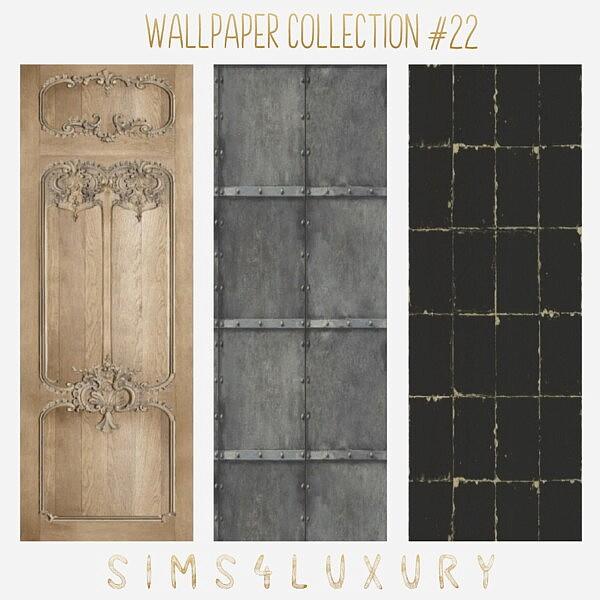 Wallpaper Collection 22 sims 4 cc