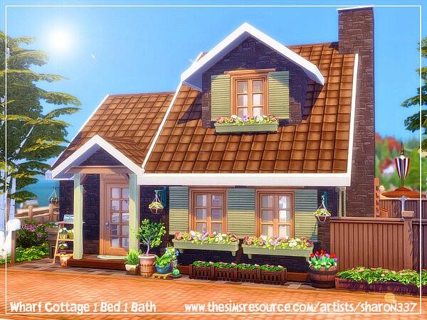 Wharf Cottage sims 4 cc