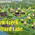 Willow Creek Courtyard Lane sims 4 cc