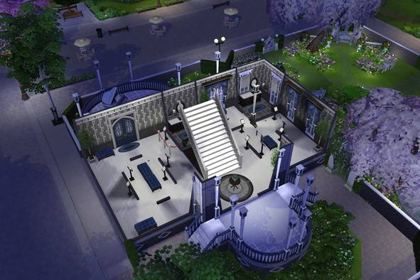Willow Creek Museum sims 4 cc
