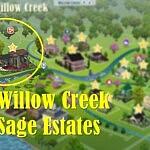 Willow Creek Sage Estates sims 4 cc