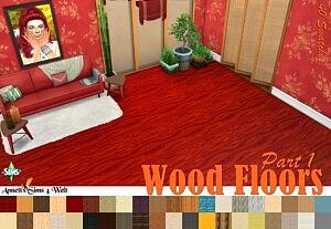 Wood Floors Part 1 sims 4 cc