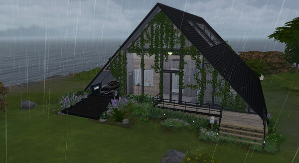 Writers hut sims 4 cc