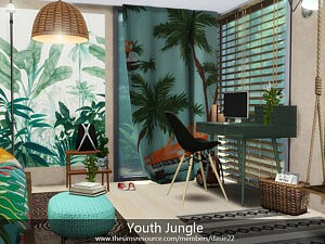 Youth Jungle sims 4 cc