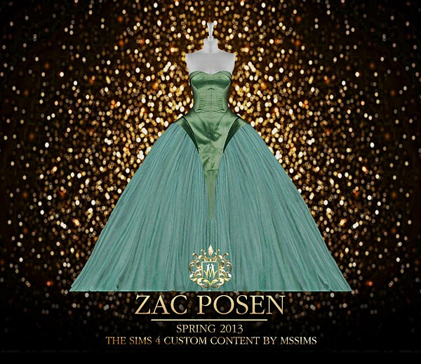 Zac Gown sims 4 cc
