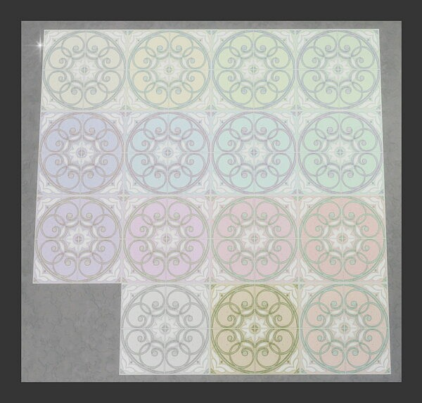 Portuguese Tile by Simmiller from Mod The Sims