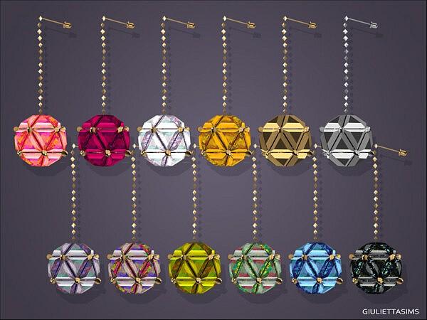 Charmaine Earrings by feyona from TSR