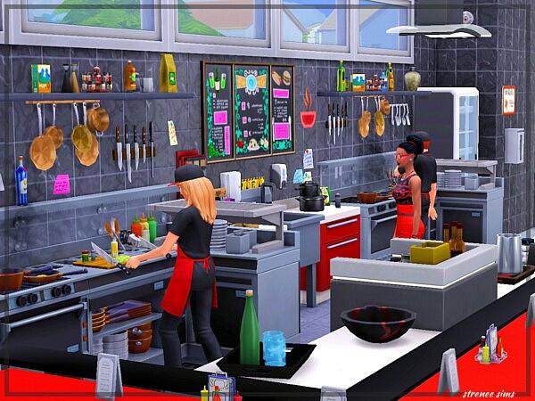 The Mainline Restaurant from Strenee sims