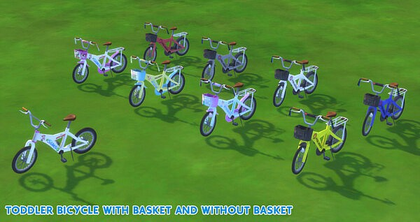 Bicycle For Kids and Toddler by Waronk from Mod The Sims