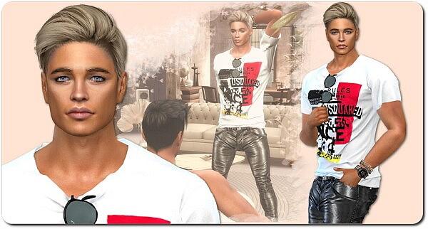 Designer Set for Men from Sims4 boutique