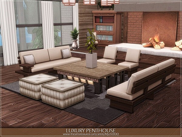 Luxury Penthouse by MychQQQ from TSR