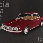 1965 Lancia Fulvia Coupe sims 4 cc