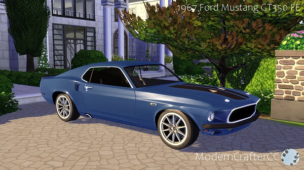 1967 Ford Mustang GT350 FE sims 4 cc