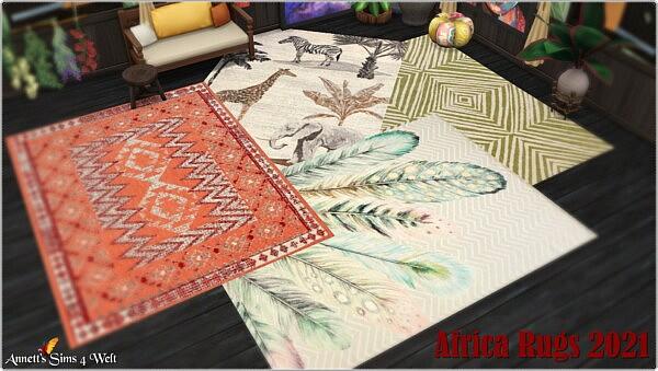 AFRICA Rugs 2021 from Annett`s Sims 4 Welt