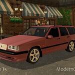 1994 Volvo 850 T5 sims 4 cc