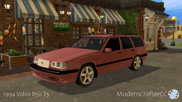 1994 Volvo 850 T5 from Modern Crafter