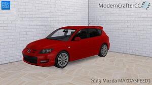 2009 Mazda MAZDASPEED3 sims 4 cc