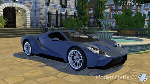 2017 Ford GT sims 4 cc