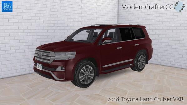 2018 Toyota Land Cruiser VXR sims 4 cc