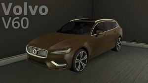 2019 Volvo V60 sims 4 cc