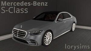 2021 Mercedes Benz S Class sims 4 cc
