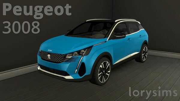2021 Peugeot 3008 sims 4 cc