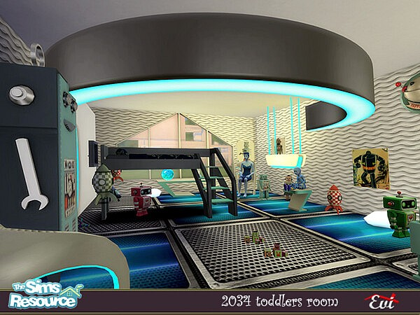 2034 Kids room sims 4 cc