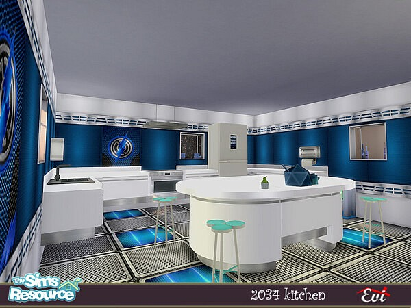 2034 Kitchen sims 4 cc