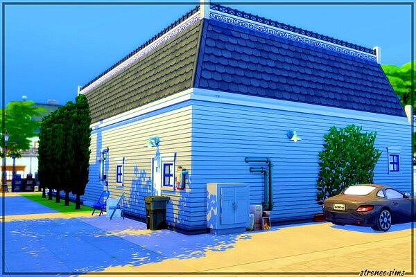 The Royal Fork Restaurant from Strenee sims