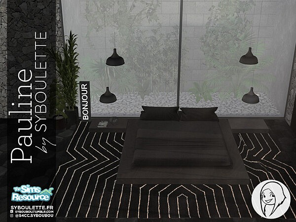 Pauline bedroom set by Syboubou from TSR