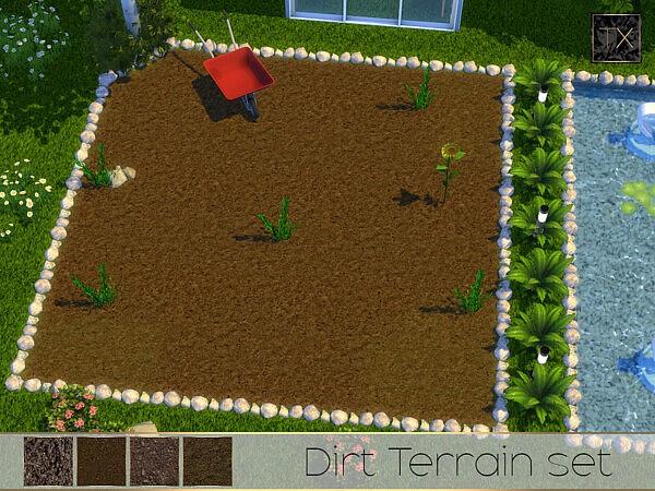 TX   Dirt Terrain Set by theeaax from TSR
