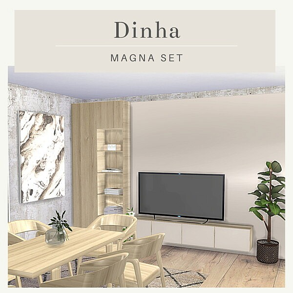 Magna Set from Dinha Gamer