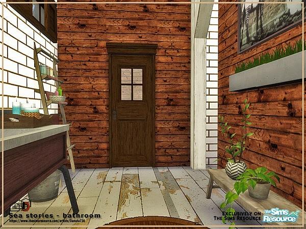 Sea stories bathroom by Danuta720 from TSR