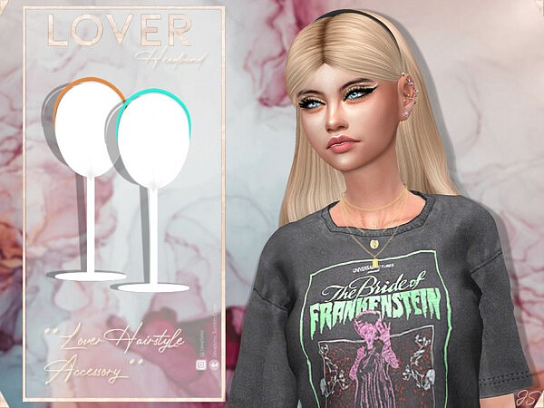 Lover Hair Set  by JavaSims from TSR
