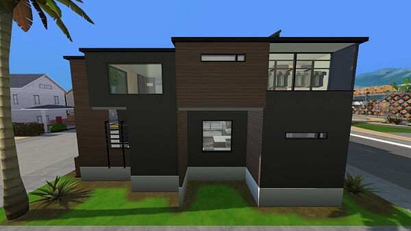 Riverside Modern Home by Radiophobe from Mod The Sims