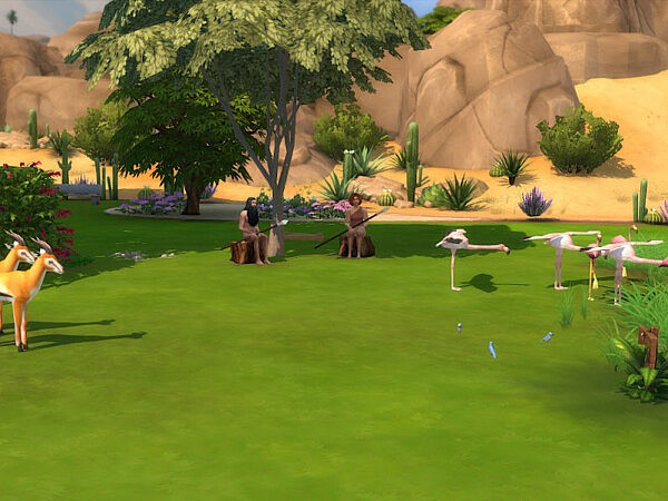 The Savannah and Little Pond from KyriaTs Sims 4 World