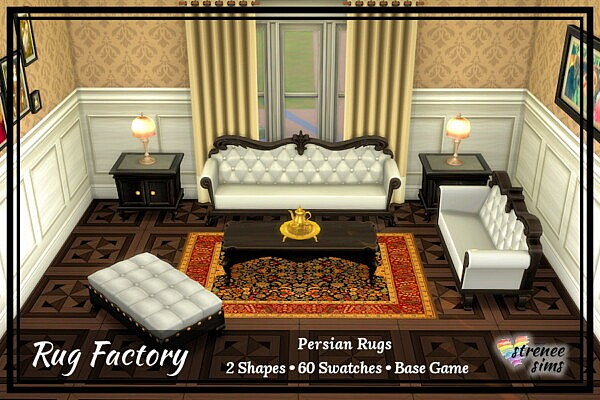 Persian Rugs from Strenee sims