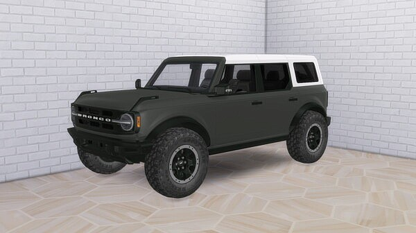 2021 Ford Bronco from Modern Crafter