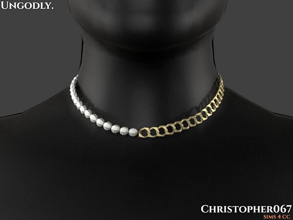 Ungodly Necklace M by Christopher067 from TSR