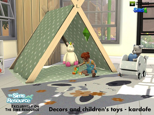 Decors and childrens toy by kardofe from TSR